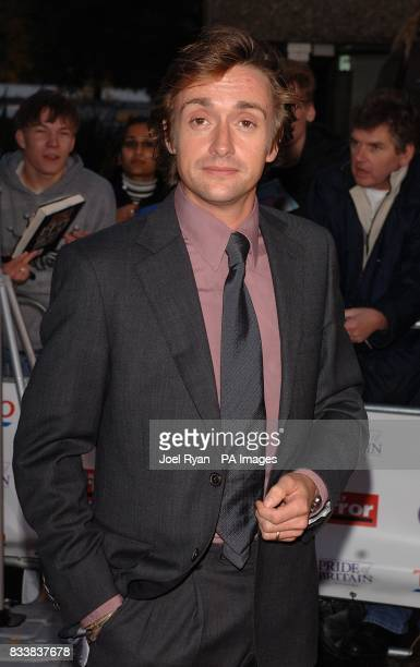 Richard Hammond arrives for the Pride of Britain Awards 2007 The London Studios Upper Ground London SE1