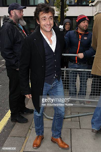 Richard Hammond at BBC Radio 2 on December 5 2014 in London England