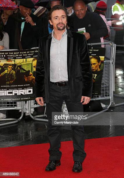 Richard Hammond attends the UK Premiere of 'Sicario' at Empire Leicester Square on September 21 2015 in London England