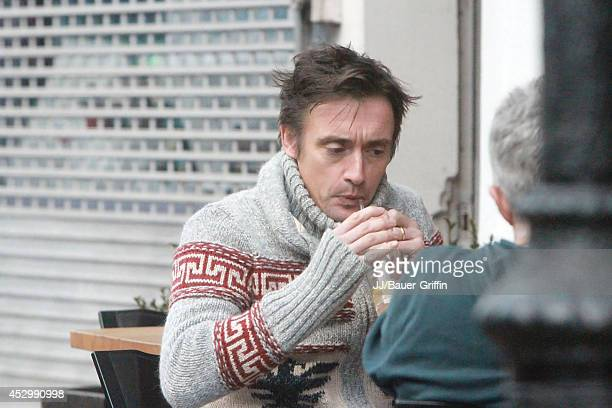Richard Hammond is seen on January 10 2012 in London United Kingdom