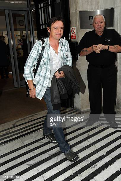 Richard Hammond pictured at Radio 2 on October 26 2012 in London England