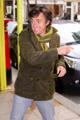 Richard Hammond sighted arriving at BBC Radio Two on November 29 2013 in London England