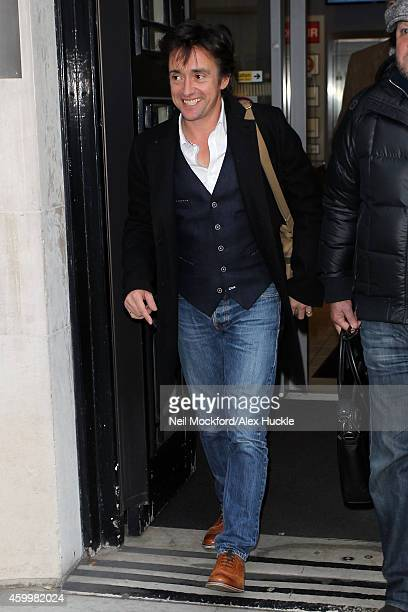 Richard Hammond sighted at BBC Radio 2 on December 5 2014 in London England