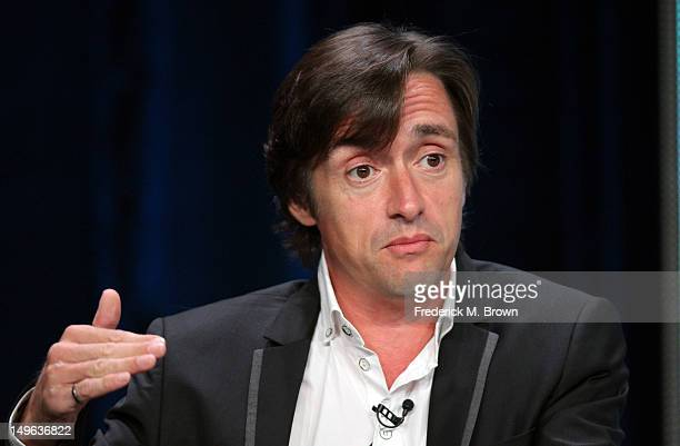 Richard Hammond speaks at the 'Richard Hammond's Crash course' discussion panel during the BBC America portion of the 2012 Summer Television Critics...