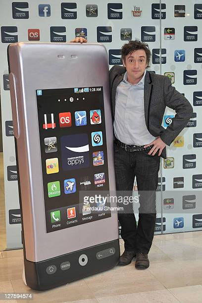 Richard Hammond unveils the shortlist of app nominees for the first ever Carphone Warehouse Appys Awards at The Carphone Warehouse on February 21...
