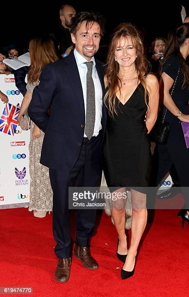 Richard Hammond with his wife Amanda Etheridge attend the Pride Of Britain awards at the Grosvenor House Hotel on October 31 2016 in London England