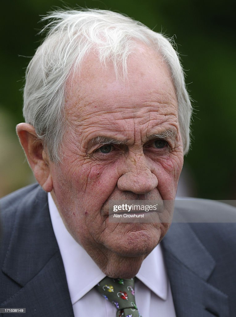 Richard Hannon attends the Salisbury Races at the Salisbury racecourse on June 26, 2013 in Salisbury, England.