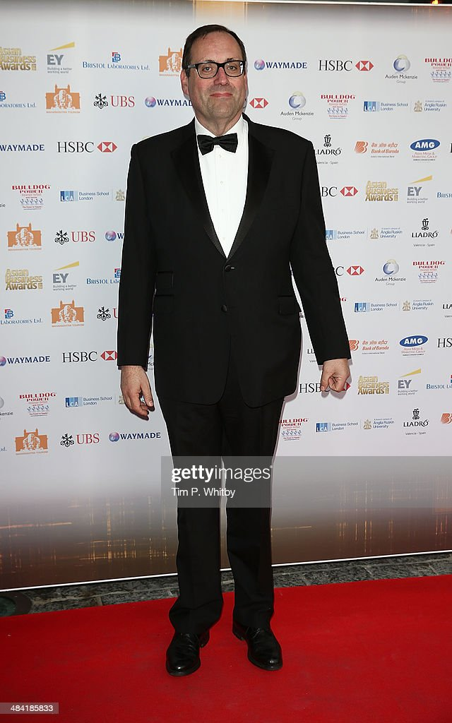 Richard Harrington MP attends the Asian Rich List 2014 at Westminster Bridge Park Plaza Hotel on April 11 2014 in London England