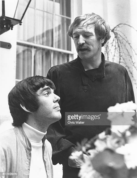 Richard Harris and Jimmy Webb 1968 at time of 'Macarthur Park'