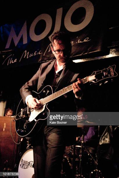 Richard Hawley performs on stage at The Jazz Cafe on June 7 2010 in London England