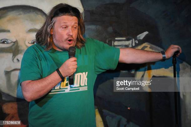 Richard Herring performs during The Stand Comedy Club's press preview at The Edinburgh Festival Fringe on August 1 2013 in Edinburgh Scotland