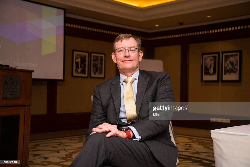 Richard Holloway- Managing Director of Milliman, South East Asia and India Life Consulting poses during an exclusive interview on November 25, 2015 in Mumbai, India.