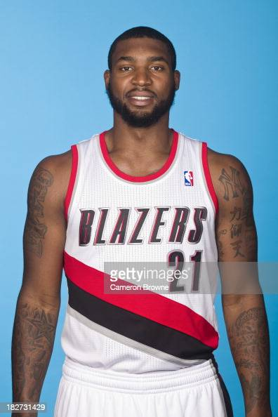 Richard Howell of the Portland Trail Blazers poses for a picture during media day on September 30 2013 at the Rose Garden Arena in Portland Oregon...
