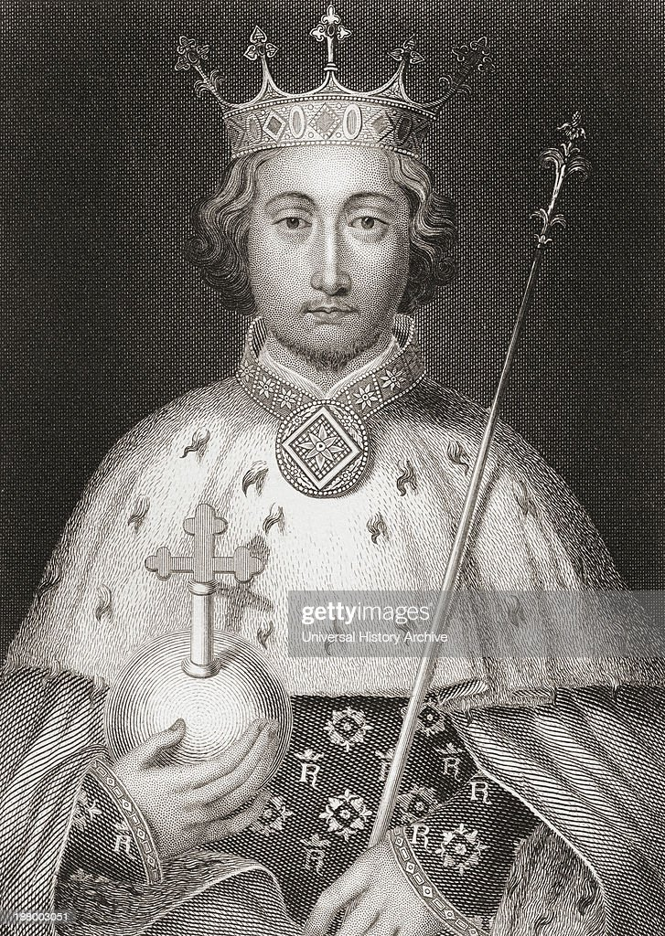 Richard Ii, 1367 – 1400. King Of England. From The History Of England Published 1859.