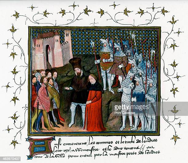 Richard II delivered by Bolingbroke to the citizens of London Henry of Bolingbroke the future King Henry IV takes the captive King Richard to London...