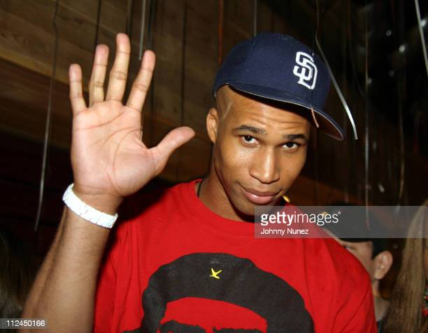 Richard Jefferson of the New Jersey Nets during Butter's Two Year Anniversary at Butter in New York City New York United States