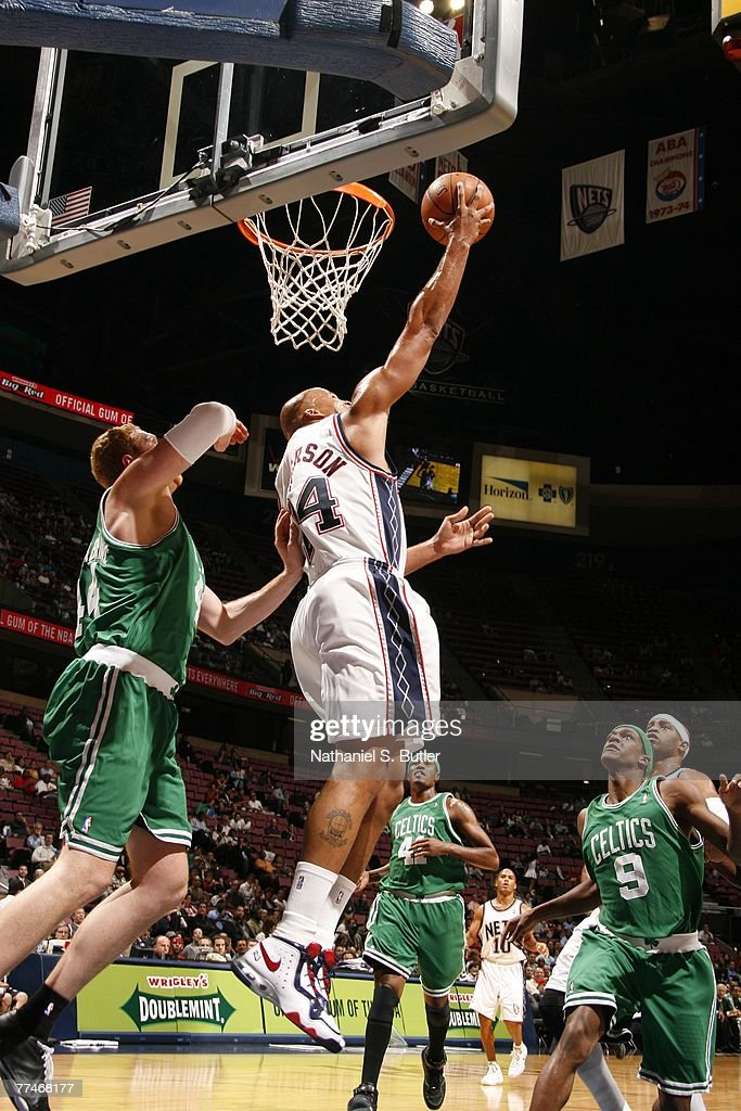 9e3ac4457b4 ... uk 24 jersey si richard jefferson 24 of the new jersey nets shoots against  brian scalabrine