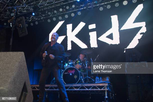 Richard Jobson of The Skids performs at Rebellion Festival at Winter Gardens on August 6 2017 in Blackpool England