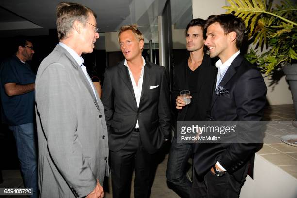 Richard Johnson Daniel Benedict Kane Manera and Johannes Huebl attend THE CINEMA SOCIETY THE NEW YORKER host the after party for 'BEYOND A REASONABLE...