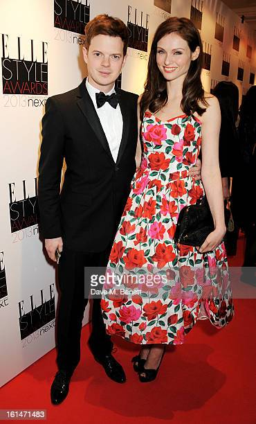 Richard Jones and Sophie Ellis Bextor arrive at the Elle Style Awards at The Savoy Hotel on February 11 2013 in London England
