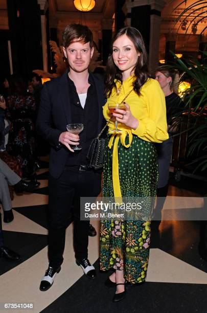 Richard Jones and Sophie EllisBextor attend the launch of The Ned London on April 26 2017 in London England