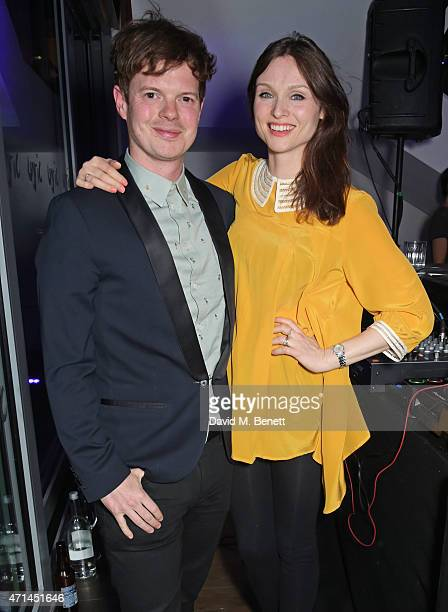 Richard Jones and Sophie EllisBextor attend the opening of the Lyric Hammersmith's Reuben Foundation Wing and 'Bugsy Malone' at the Lyric Hammersmith...