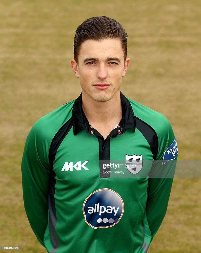 Richard Jones during a Photocall for Worcestershire County Cricket Club on April 9, 2013 in Worcester, England.