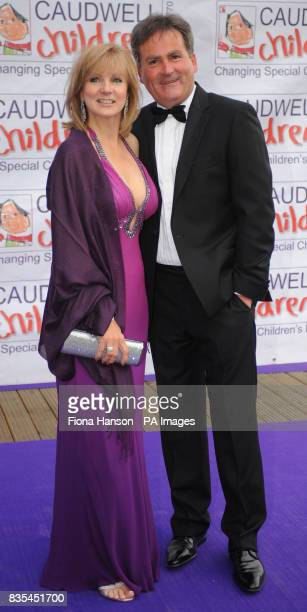 Richard Keys and wife arrive for the Butterfly Ball in Battersea Park London The event by Caudwell Children aims to raise funds for disabled children