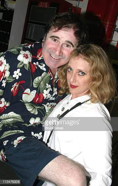 Richard Kind and Carol Kane during Broadway's 'Sly Fox' Welcomes Richard Kind Bronson Pinchot and Carol Kane to the Cast at The Barrymore Theater in...