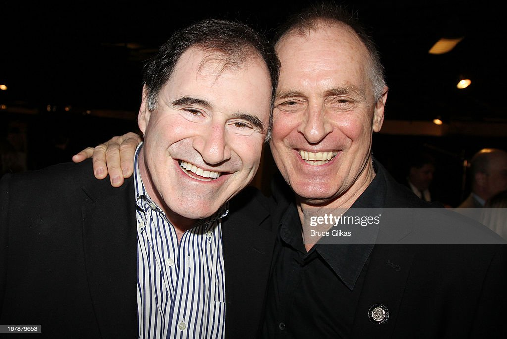 <a gi-track='captionPersonalityLinkClicked' href=/galleries/search?phrase=Richard+Kind&family=editorial&specificpeople=216578 ng-click='$event.stopPropagation()'>Richard Kind</a> and <a gi-track='captionPersonalityLinkClicked' href=/galleries/search?phrase=Keith+Carradine&family=editorial&specificpeople=218059 ng-click='$event.stopPropagation()'>Keith Carradine</a> attend the 2013 Tony Awards: The Meet The Nominees Press Junket at the Millenium Hilton on May 1, 2013 in New York City.