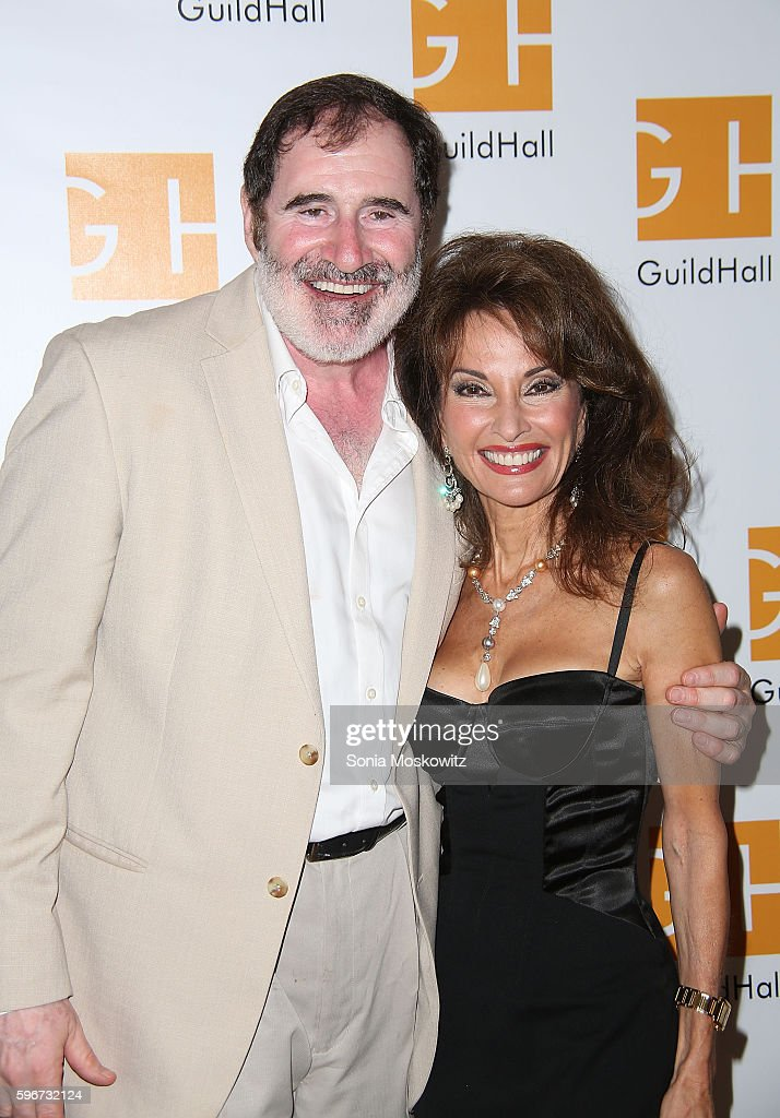 Richard Kind and Susan Lucci attend 'Celebrity Autobiography' at Guild Hall on August 26 2016 in East Hampton New York