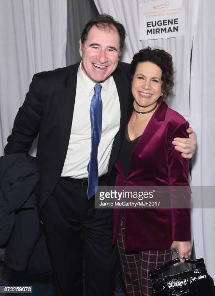 Richard Kind and Susie Essman attend A Funny Thing Happened On The Way To Cure Parkinson's at the Hilton New York on November 11 2017 in New York City