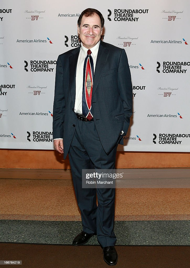 <a gi-track='captionPersonalityLinkClicked' href=/galleries/search?phrase=Richard+Kind&family=editorial&specificpeople=216578 ng-click='$event.stopPropagation()'>Richard Kind</a> attends 'The Big Knife' Broadway opening night at American Airlines Theatre on April 16, 2013 in New York City.