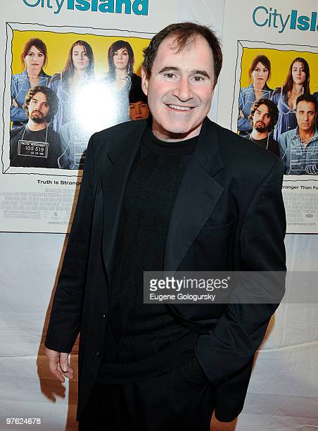 Richard Kind attends the premiere of 'City Island' at The Directors Guild of America Theater on March 10 2010 in New York City