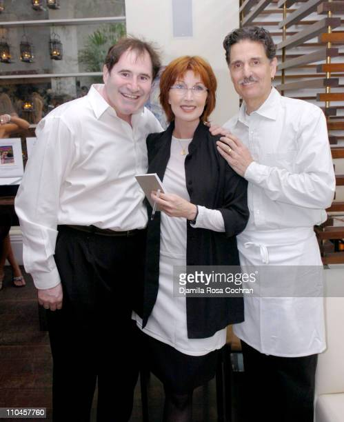 Richard Kind Joanna Gleason and Chris Sarandon during Celebrity Waiters Serve Up Sapa's Southeast Asian Cuisine to Benefit Project ALS at Sapa...