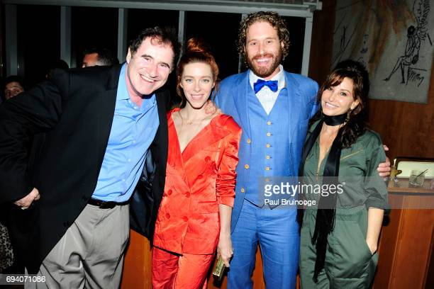 Richard Kind Kate Gorney TJ Miller and Gina Gershon attend Netflix hosts the after party for 'Okja' at AMC Lincoln Square Theater on June 8 2017 in...