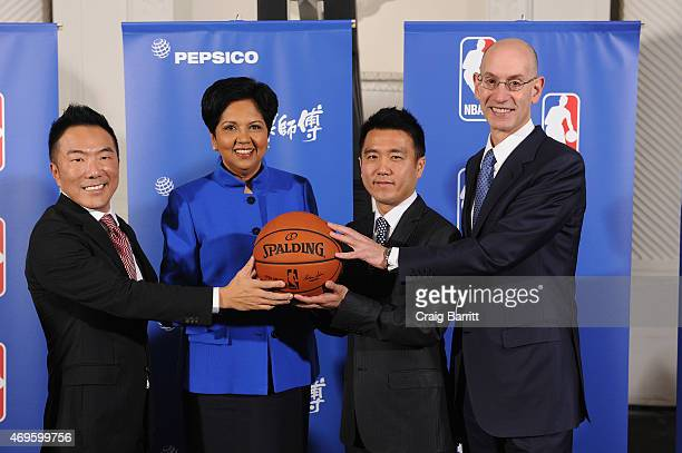 Richard Lee Chief marketing officer PepsiCo China and Tingyi chairman and CEO PepsiCo Indra Nooyi member of the board of directors at Tingyi HongChen...