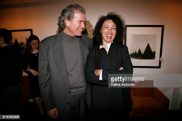 Richard Leitner and Gwendolyn Alston attend SUSAN COHN ROCKEFELLER launches ROCKNROLA Jewelry line to benefit OCEANA at Buck House on February 2 2010...