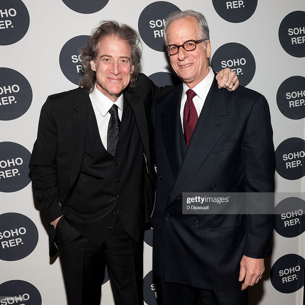 <a gi-track='captionPersonalityLinkClicked' href=/galleries/search?phrase=Richard+Lewis&family=editorial&specificpeople=213264 ng-click='$event.stopPropagation()'>Richard Lewis</a> (L) and honoree Jon Dembrow attend Soho Rep's 2014 Spring Fete at The Angel Orensanz Foundation on March 31, 2014 in New York City.