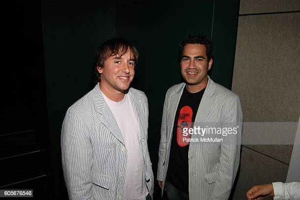 Richard Linklater and Tommy Pallotta attend A SCANNER DARKLY Special Screening at Walter Reade Theater on July 5 2006 in New York City