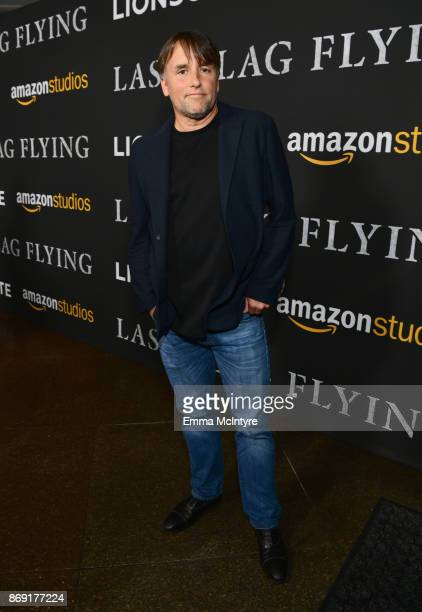Richard Linklater attends the premiere of Amazon's 'Last Flag Flying' at DGA Theater on November 1 2017 in Los Angeles California