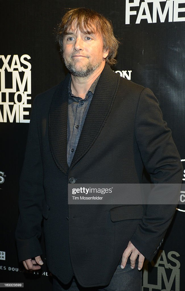 <a gi-track='captionPersonalityLinkClicked' href=/galleries/search?phrase=Richard+Linklater&family=editorial&specificpeople=242770 ng-click='$event.stopPropagation()'>Richard Linklater</a> poses at the Texas Film Hall of Fame Awards at Austin Studios on March 7, 2013 in Austin, Texas.
