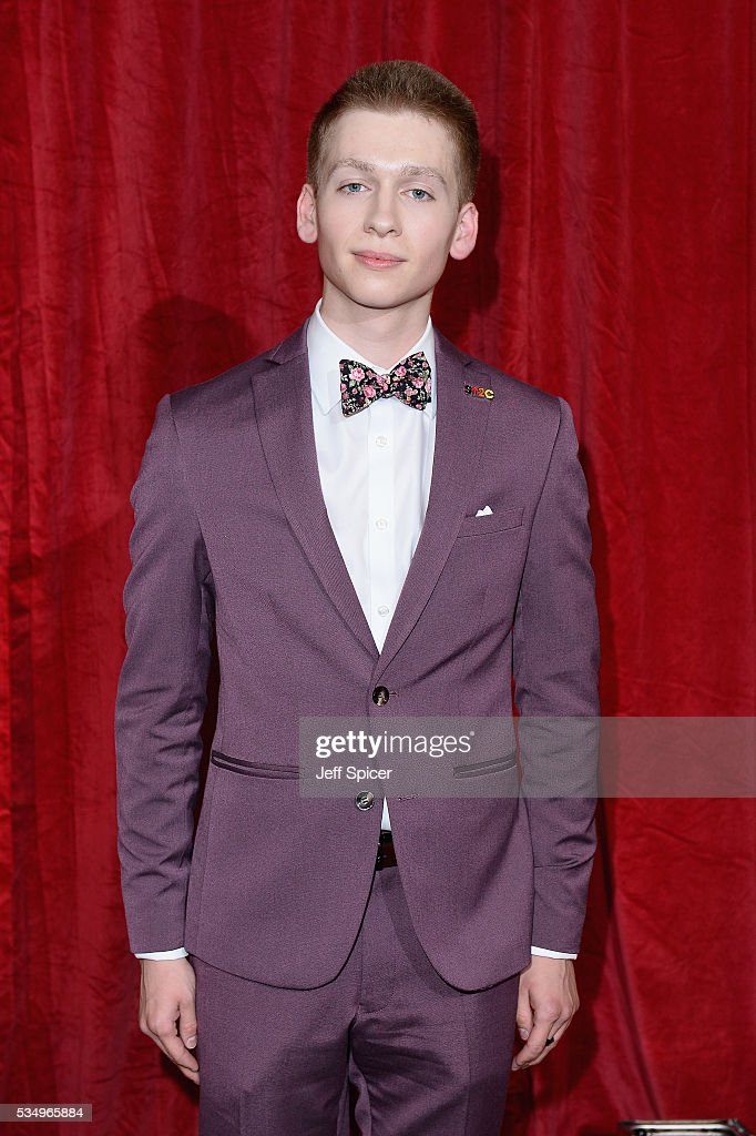 Richard Linnell attends the British Soap Awards 2016 at Hackney Empire on May 28, 2016 in London, England.