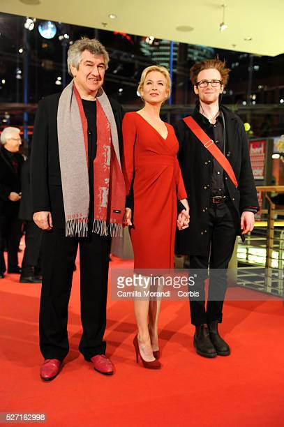 Richard Locraine Renee Zellweger and Mark Rendall at the premiere of 'My One and Only' during the 59th Berlin Film Festival