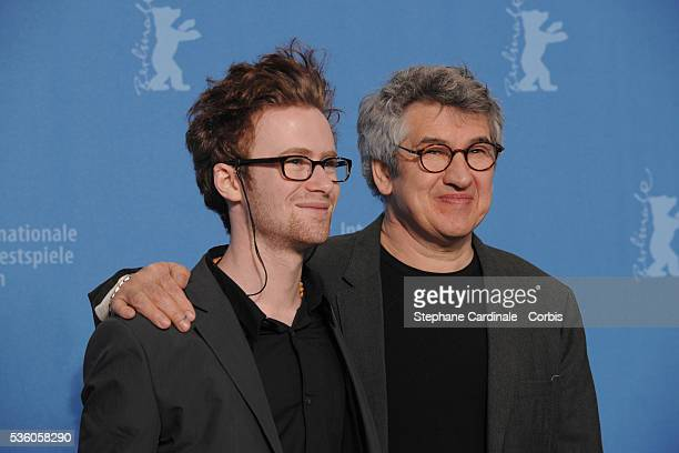 Richard Loncraine Mark Rendall at the photo call for 'My One and Only' at the 59th Berlin Film Festival