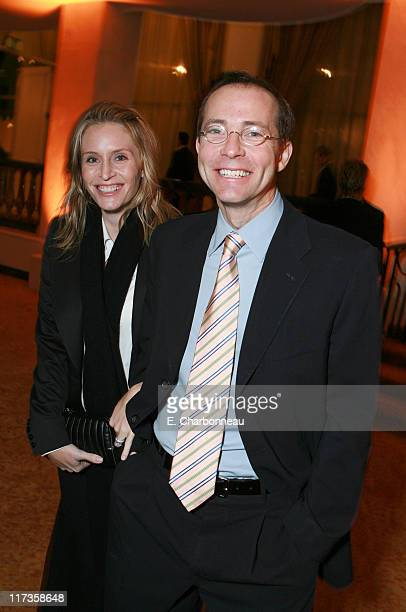 Richard Lovett and guest during Saks Fifth Avenue's Unforgettable Evening Benefitting EIF's Women's Cancer Research Fund at Regent Beverly Wilshire...