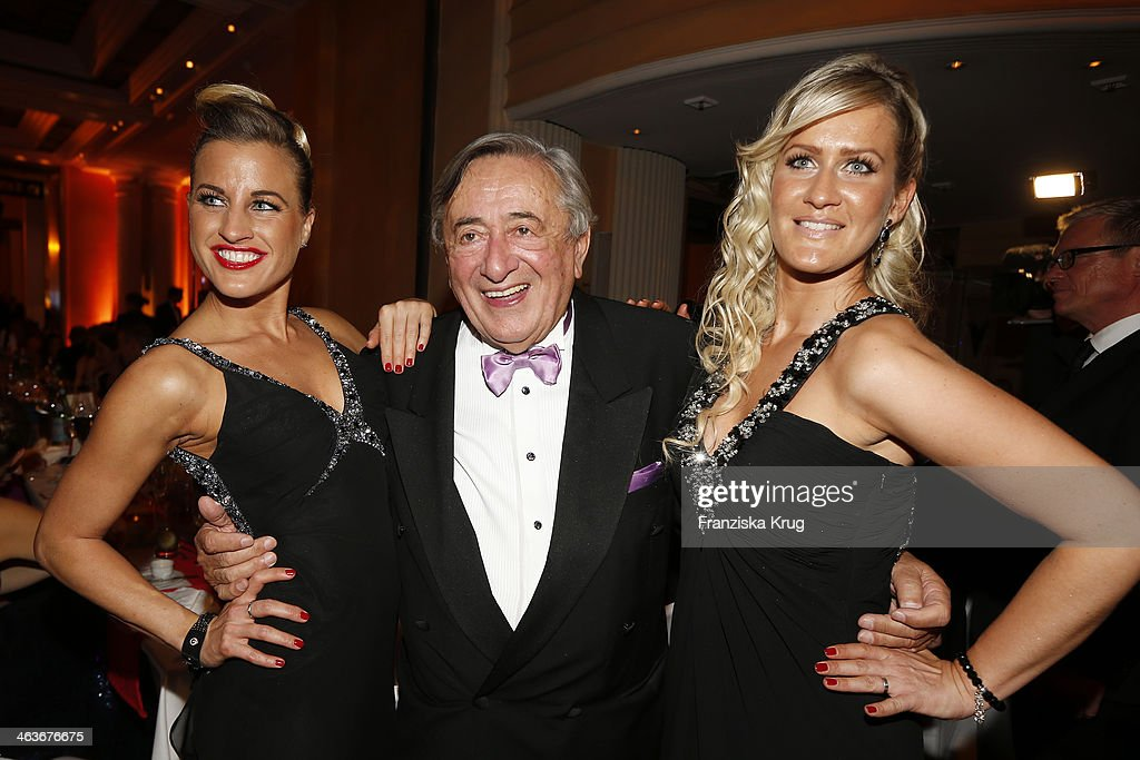 <a gi-track='captionPersonalityLinkClicked' href=/galleries/search?phrase=Richard+Lugner&family=editorial&specificpeople=869150 ng-click='$event.stopPropagation()'>Richard Lugner</a> and guest attend the German Film Ball 2014 (Deutscher Filmball) on January 18, 2014 in Munich, Germany.