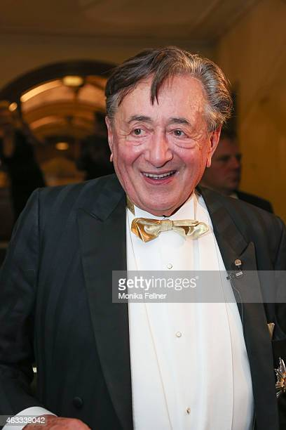 Richard Lugner attends the traditional Opera Ball Vienna at State Opera Vienna on February 12 2015 in Vienna Austria