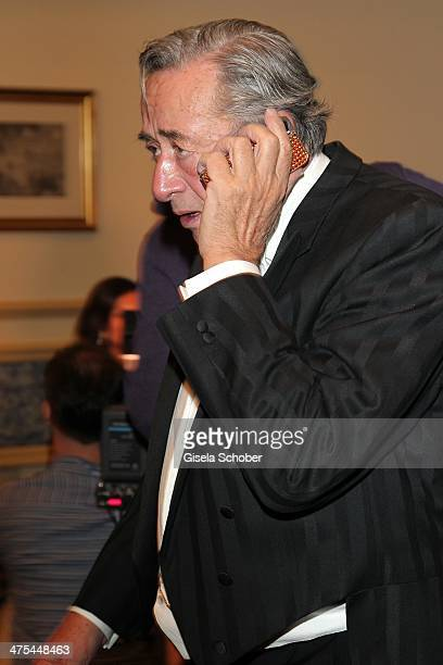 Richard Lugner attends the traditional Vienna Opera Ball at Vienna State Opera on February 27 2014 in Vienna Austria
