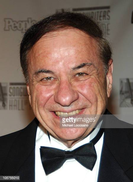 Richard M Sherman during The 36th Annual Songwriters Hall of Fame Awards Induction at Marriott Marquis Hotel in New York City New York United States